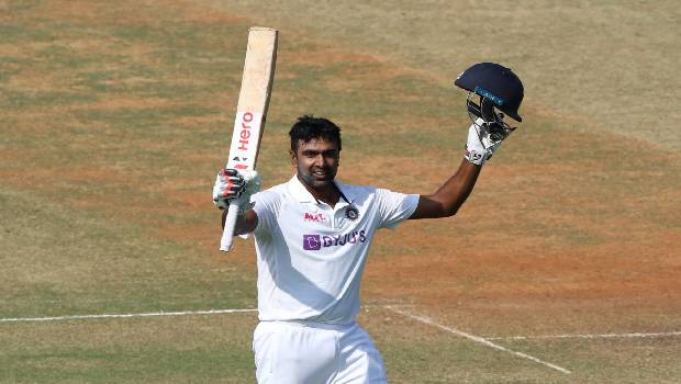 Ashwin's 5th Ton puts India in the driving seat