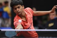 Snehit  wins against Harmeet reaches semi-finals of the National table tennis championship